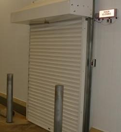 Fire shutter door