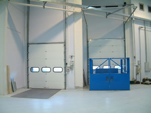 Insulated overhead door